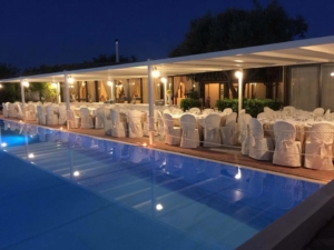 Poolside Hotel in Fontane Bianche in Syrakus, Valle di Mare resort