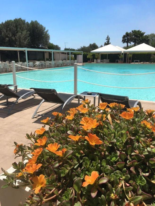 pool in fontane bianche hotel direkt am meer, in sizilien bei syrakus, sizilien urlaub