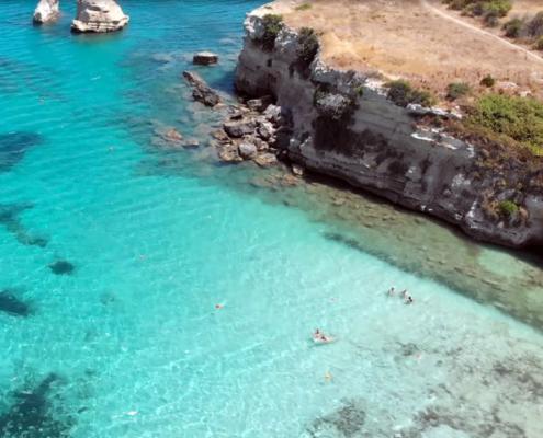 Sizilien Urlaub nahe Syrakus am Strand von Fontane Bianche