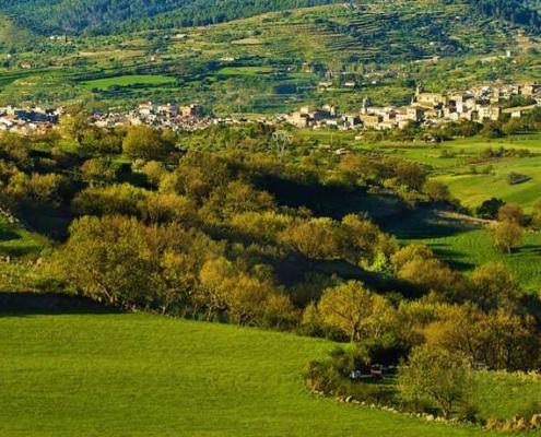 Sizilien Urlaub mit dem Fahrrad, Höchste Erhebung ist der bewaldete Monte Lauro (990 m)